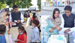 پاکستانی جوڑے کی دلچسپ اور انوکھی شادی کی تقریب