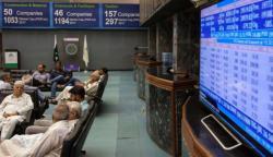 پی ایس ایکس 100 انڈیکس میں 257 پوائنٹس کی کمی