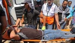 اسرائیلی فورسز کے حملوں میں 270 فلسطینی زخمی