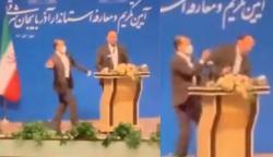 ایران میں علاقائی گورنر کو سابق اہلکار نے تھپڑ مار دیا
