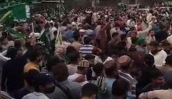 کراچی: کالعدم تنظیم کی نمائش چورنگی تا فوارہ چوک ریلی